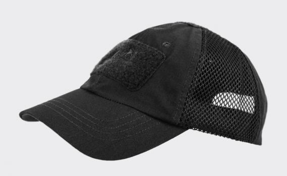 HELIKON TEX TACTICAL BASEBALL VENTILATION CAP SCHWARZ