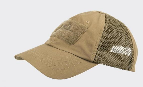 HELIKON TEX TACTICAL BASEBALL VENTILATION CAP COYOTE