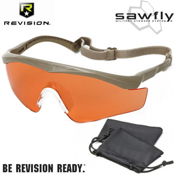 Revision Military Eyewear SAWFLY BASIC Vermillion Tan